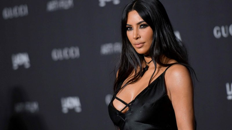 Kim Kardashian-West arrives for the 2018 LACMA Art+Film Gala at the Los Angeles County Museum of Art in Los Angeles, California on November 3, 2018. (Photo by Chris Delmas / AFP)CHRIS DELMAS/AFP/Getty Images